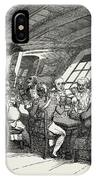 1789, Grog, Refreshments Of The British Navy IPhone Case