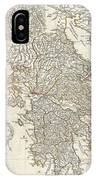1794 Anville Map Of Ancient Greece  IPhone Case