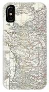 1794 Anville Map Of Gaul  Or France In Ancient Roman Times IPhone Case