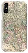 1799 Cary Map Of Swabia Germany IPhone Case