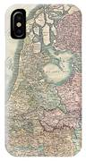 1799 Cary Map Of The Netherlands IPhone Case