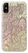 1799 Cary Map Of Tyrol IPhone Case