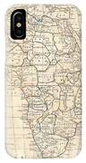 1799 Clement Cruttwell Map Of Africa  IPhone Case
