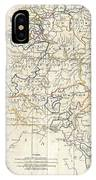 1799 Clement Cruttwell Map Of Belgium Or The Netherlands IPhone Case