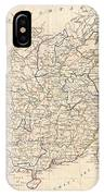 1799 Clement Cruttwell Map Of China Korea And Taiwan IPhone Case