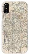 1799 Clement Cruttwell Map Of France In Provinces IPhone Case