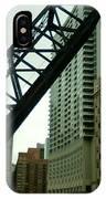 Kinzie Street Bridge IPhone Case