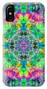 Rainbow Light Mandala IPhone Case