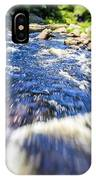The Stream In Mountain IPhone Case