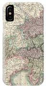 1801 Cary Map Of Austria IPhone Case