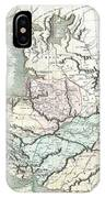 1801 Cary Map Of Persia  Iran Iraq Afghanistan IPhone Case
