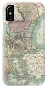 1801 Cary Map Of Turkey In Europe Greece And The Balkan IPhone Case