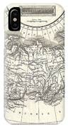 1826 Assheton Map Of Russia In Asia IPhone Case