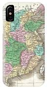 1827 Finley Map Of China  IPhone Case