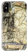 1845 Republic Of Texas - Carved In Stone IPhone Case