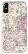 1855 Colton Map Of Minnesota IPhone Case