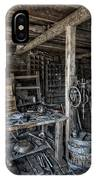 1860's Blacksmith Shop - Nevada City Ghost Town - Montana IPhone Case