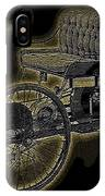 1896 Quadricycle Henry Fords First Car IPhone Case