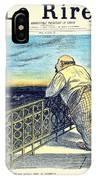 1897 - Le Rire Journal Humoristique Paraissant Le Samedi Magazine Cover - July 31 - Color IPhone Case