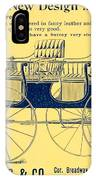 1898 - Hawley King And Company - Surrey Buggy Advertisement - Color IPhone Case