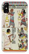 18th Dynasty  Syrian Chiefs Pay Tribute IPhone Case