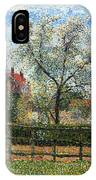 Pear Tress In Bloom IPhone Case