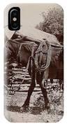 1900 Cowboy IPhone Case