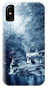 1900 Cyanotype New England Woods IPhone Case
