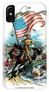 1902 Rough Rider Teddy Roosevelt IPhone Case