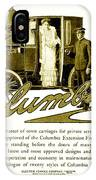 1903 - Columbia Motor Carriage Advertisement IPhone Case