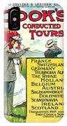 1904 Cooks Conduted Tours Vintage Travel Art IPhone Case