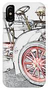 1907 Cadillac Colored Pencil IPhone Case