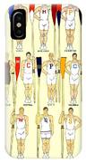 1910 - College Crew Poster - Rowing - Edward Penfield - Color IPhone Case