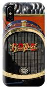 1910 Pope Hartford Model T Grille Emblem IPhone Case