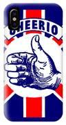 1910 Union Jack Cheerio IPhone Case