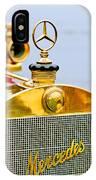 1911 Mercedes 50 Hp Maythorn Tourer Hood Ornament IPhone Case