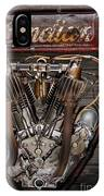 1912 Indian Board Track Racer Engine IPhone Case