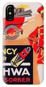 1913 - Geschwa Automobile Shock Absorber Adbertisement - Color IPhone Case