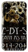 1914 - 2014 Side By Side - In Death As In Life IPhone Case