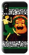 1914 Zurich Theater Arts Festival IPhone Case