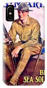 1917 - United States Marines Recruiting Poster - World War One - Color IPhone Case