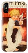 1917 - Modern Priscilla Magazine Cover - December IPhone Case