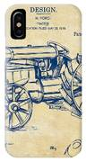 1919 Henry Ford Tractor Patent Vintage IPhone X Case
