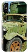 1920s Ford Moving Truck IPhone Case