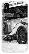 1921 Vauxhall 30/98e IPhone Case