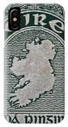 1922 Ireland Eire Stamp IPhone Case
