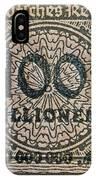 1923 100 Million Mark German Stamp IPhone Case