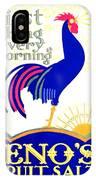 1924 - Eno's Fruit Salt Advertisement - Color IPhone Case