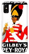 1924 - Gilbey Spey-royal Whisky Advertisement - Color IPhone Case