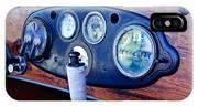 1925 Stutz Series 695h Speedway Six Torpedo Tail Speedster Dashboard Instruments IPhone Case